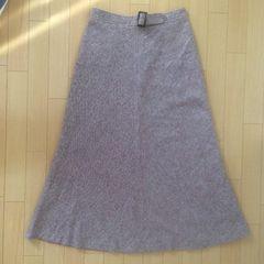 台形型ロングスカート☆76cm   日本製