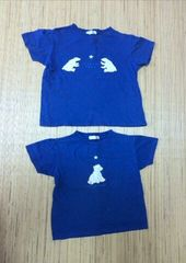くまさんの半袖Tシャツ  130と140  2枚組