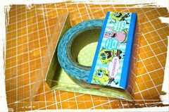 スポンジボブ マスキングテープ 和紙 カミオジャパン