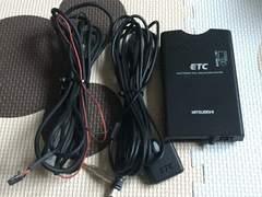軽自動車登録 三菱電気 ETC車載器 音声 アンテナ分離型