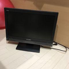 MITSUBISHI三菱REAL19型地デジテレビ黒ブラックジャンク
