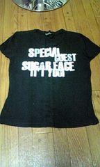 トップス 黒色 Tシャツ