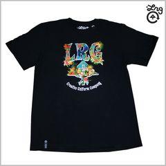 即決◆新品LRG Tシャツ M◆黒ストリートレゲエB系2014