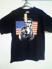 Aー55★新品★半袖アメカジロックTシャツ ブラック M