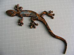 ● Gecko ヤモリ! RIALカラー&柄仕様B エンブレム 新品 ●