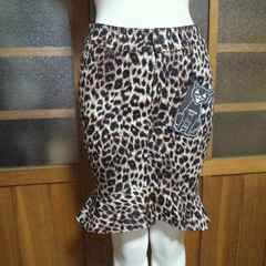 JUNGLE CAT/ジャングルキャットレオパ 豹柄 タイトスカート