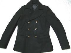 5351プールオム ヘビーメルトンPコート 1 ブラック