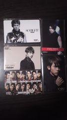 三代目JSB NAOTO ミュージックカード 5枚