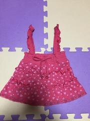 サロペット  スカート  ベアトップ  100サイズ