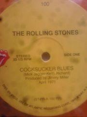 ローリングストーンズ新品12インチレコードブラウンシュガー オレンジ盤