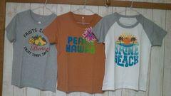 M8割引新品タグ付きベルメゾン千趣会常夏サマーTシャツ3枚組み/1着\990