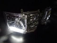 ポジション LED ヘッドライト ハイエース 200 3型 �V型