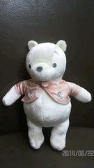 サマンサタバサ くまのプーさん  白地×ピンク色ベスト