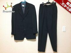 ジョルジオアルマーニ シングルスーツ 46 メンズ 黒