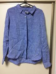 グローバルワークフレンチリネンシャツ!Lサイズ!新品タグなし