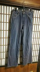 ブルーウェイBLUEWAYヒッコリーパンツMサイズ日本製アメカジペインターパンツワークストライプ服