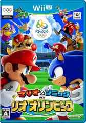 即決★中古 Wii U マリオ&ソニック AT リオオリンピック 送料無料