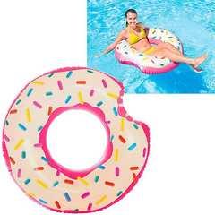新品送料無料 ドーナツ型 浮き輪 ドーナッツ プール用品 海水浴レジャー107cm