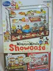 ディズニーぷちサンプルミッキー&ミニーフィギュアショーケース