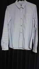 U ストライプハギシャツ メンズ1