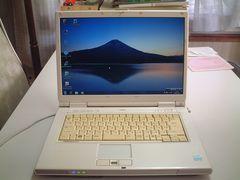すぐ使える Windows7 DVDマルチ ワイド 無線 FMV-NF40T