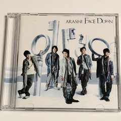 嵐 FACE DOWN 初回盤 CD DVD
