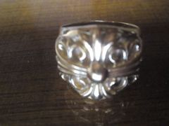 ★正規品クロムハーツのキーパー指輪でK22加工の極美品です☆