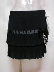 セシルマクビーパールチェーン付ミニスカート