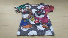 JAM パロディTシャツ スーパークマオ マリオ 120 ジャム