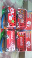 ロンドンオリンピック・プルバックカー☆ハッピーバス全4種