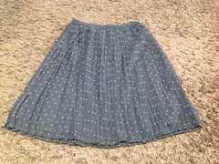UNIQLO  水玉スカート   Mサイズ  美品
