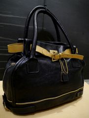 2014◆Chloe クロエ マーロゥ ベルトデザイン レザー バッグ