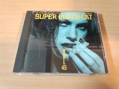 CD「スーパーユーロビートVOL.45 SEB SUPER EUROBEAT 45」●