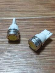 LED T10ウェッジ球(超白発光SMD/1W級)2個セット(24V用)