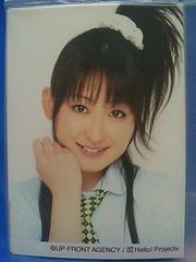 ハロプロ新人公演 赤坂HOP!・L判3枚 2008.6/青木英里奈