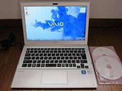 SONY VAIO SVT13119FJS Core i5-3317U/4G/SSD+HDD500G/軽量1.6kg