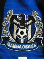 Jリーグ サッカー ガンバ大阪 ユニフォーム ホーム スポンサー ブルー ブラック M-L