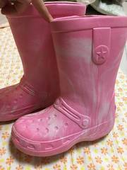 可愛い^ - ^EVA素材のレインブーツ〔長靴〕21cm