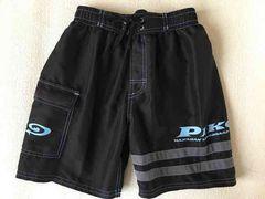 プール、海水浴に*PIKO・男児 海パン*130・黒