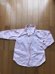一回着用美品*スキップランドカジュアル薄ピンクシャツ*
