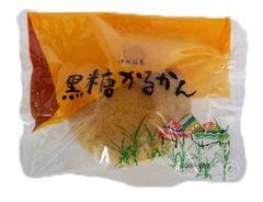 沖縄銘菓 黒糖かるかん 1個 O70M-3