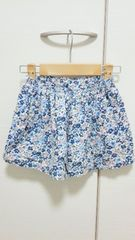 ◆GLOBAL WORK kid's*グローバルワーク キッズ◆ 小花柄キュロットスカート*M☆