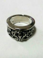 クロムハーツジャスティン好きに17号クラウン王冠リング指輪値下