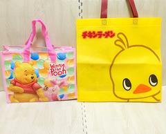 【NEW】キャラクターバッグ2点セット/プーさん/ひよこちゃん