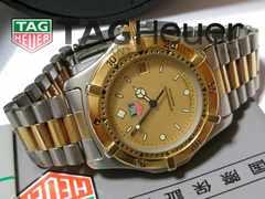 極美品【箱・国際保証書付】1スタ★タグ・ホイヤー メンズ腕時計