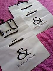 & by Pinky&Dianne大量6枚大きめ紙袋未使用