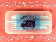 AMAZING COFFEE☆箸スプーンフォークセット