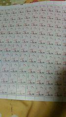 普通切手 『額面1000円』 10×100   朱鷺