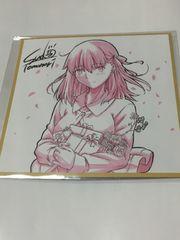 マチアソビ Fate ufotable 色紙ポストカード 間桐桜 マチ★アソビ コースター
