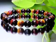 3色タイガーアイ虎目シリーズ8ミリ人気数珠